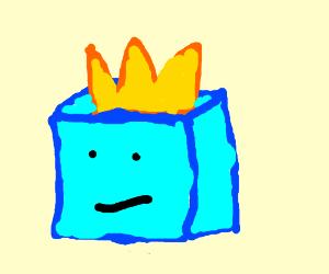 Ice-king/Peridot Fusion