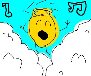 lemon angel wit halo
