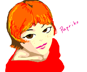 Paprika looks at you mischievously