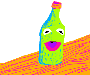 Bottle of Kermit