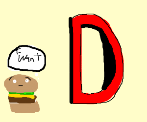 Hamburger wants the D