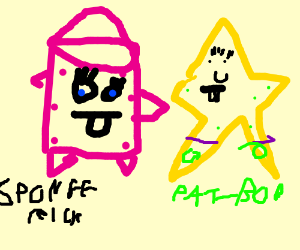 spongerick and patbob