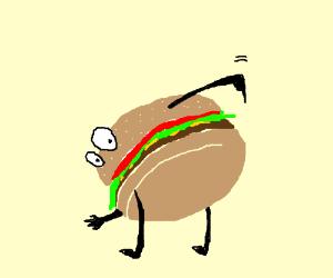 burger wants the d!ck
