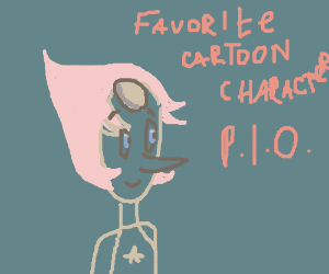 Favorite cartoon character PIO