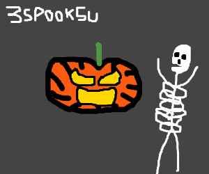 pumpkkin iz 2sp00ky