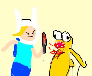 Kid in bunny ears murders yellow Elmo