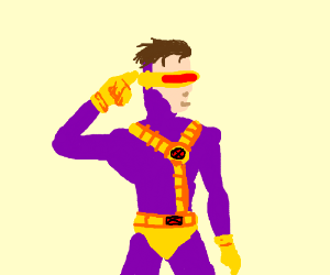 Purple cyclops