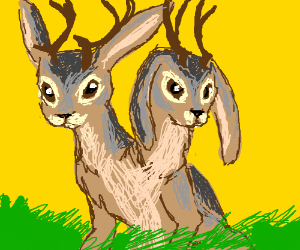 Two-handed Jackalope