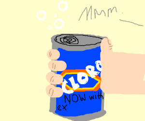 Soda Now With Extra Bleach