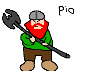A dwarf (PIO)