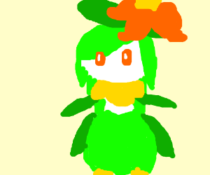 Lilligant the flowering pokemon