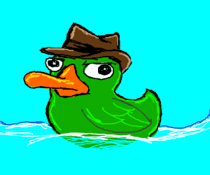 perry the duck