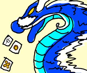 The Dragon That Barfs Up Mahjong Tiles