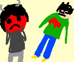 Demon regrets killing a person