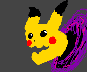 Pikachu is Reborn as a Dark Demon in the Abyss