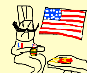 The French Chef Hates Ze Filthy Americans Drawception I was wondering how you guys did so, because every time i try to set mine it says error, internal issue while saving your file and i have no idea how to fix it. the french chef hates ze filthy