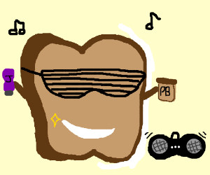 ITS PEANUT BUTTER JELLY TIME!