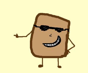 Cool toast is jammin'!