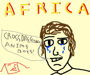 anime is a sickness in africa