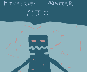 Minecraft Monster PIO