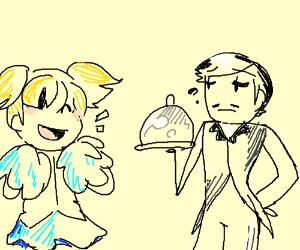 cheerleader cheers at butler