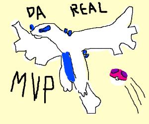 MVP: Lugia ( POKEMON)