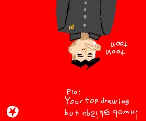 Your Best drawing but Upside Down (PIO)