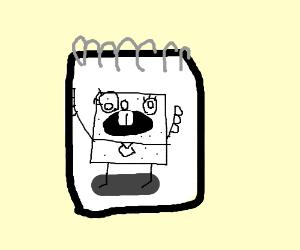 spongebob sketchbook