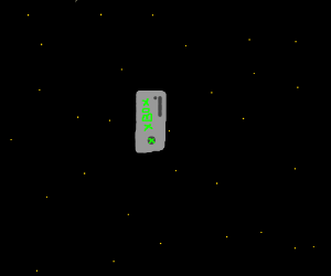 Xbox in space.