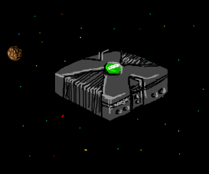 xbox in space