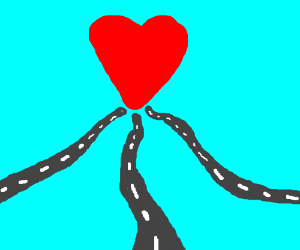 All the roads lead to love