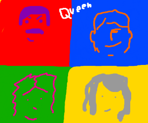 Queen 'Hot Space' Album Cover drawing by Itay Natan ...