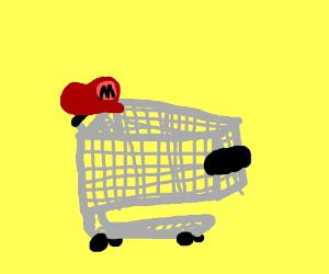 Mario's shopping cart.
