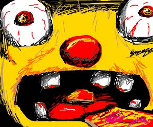 yellmo eats pizza