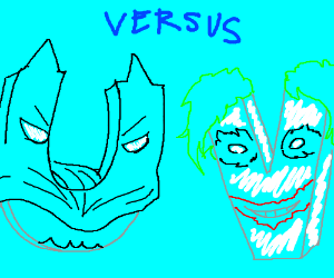 Bat-U vs Joker-V