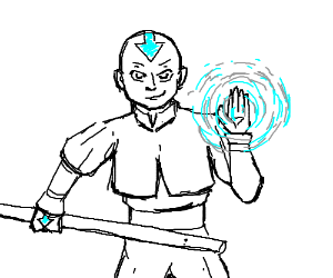 Aang From The Last Air Bender