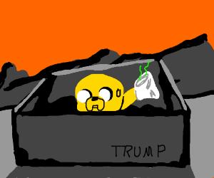 Trump builds wall around bad Drawception games