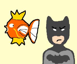 Magikarp and Batman?