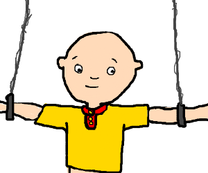 Caillou is into some freaky stuff