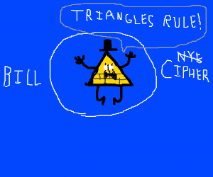 Bill Cipher the Triangle Guy