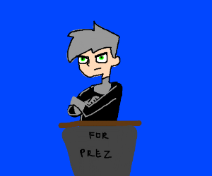 Danny Phantom for President