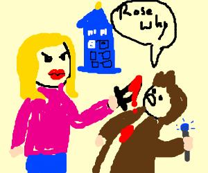 Rose Tyler Killing the Doctor