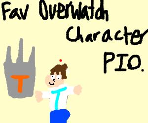Fav Overwatch character P.I.O