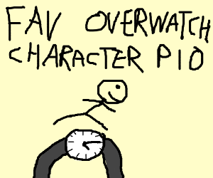 Fav Overwatch Character (PIO) #nicePersonality