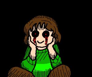 """""""It's me, Chara."""" =)"""