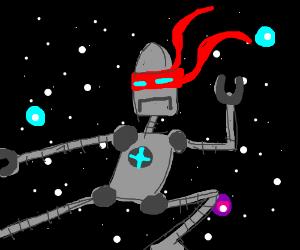 SPACE NINJA ROBOT