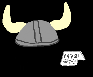 Viking helmet from 1972