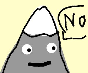 Mountain says no