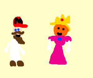 Mario invites Princess Donald Trump to Islam