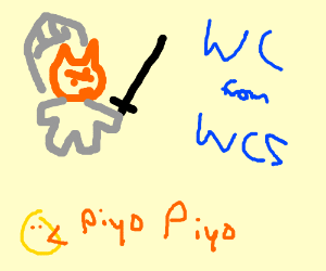 Warrior Cat from the Warrior Cat Series (PIO) - Drawception